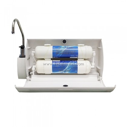 2 Stages Mini Purify Water Filter (Travel/Portable Unit)